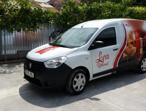 Branding auto RESTAURANT LYRA